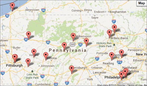 SBDC Locations