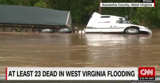 West Virginia Flood Relief Efforts