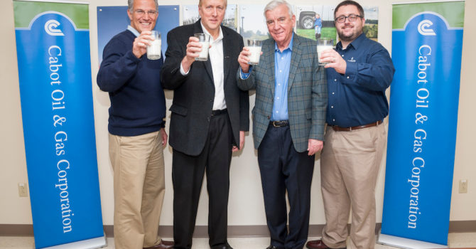 Cabot Brings Fill A Glass With Hope To Susq. County