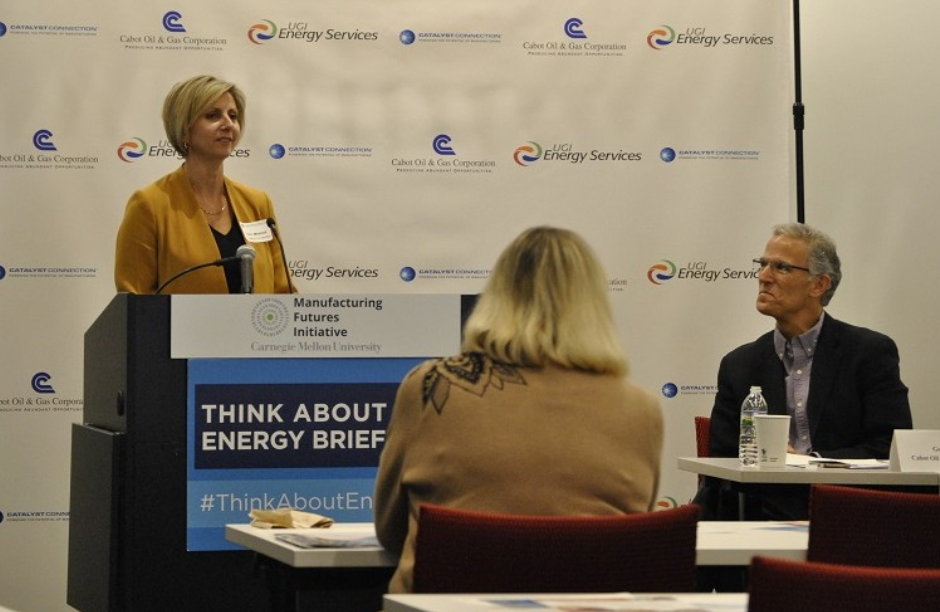 Petra talks about manufacturing at energy event